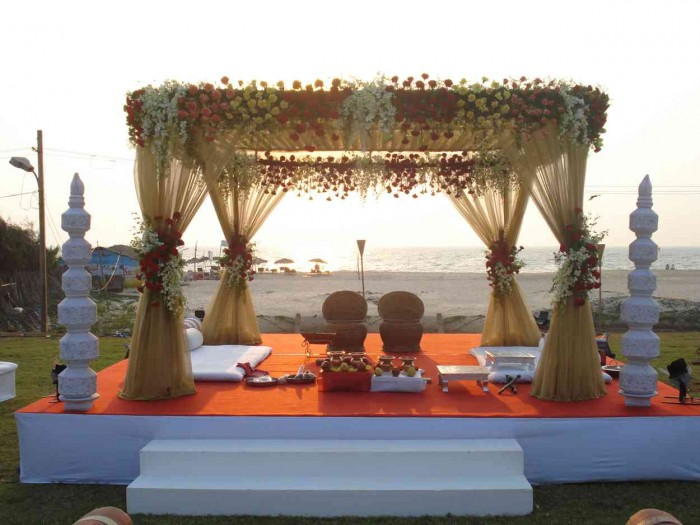marriage mandap