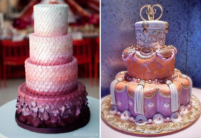 Gorgeous Indian Wedding Cakes