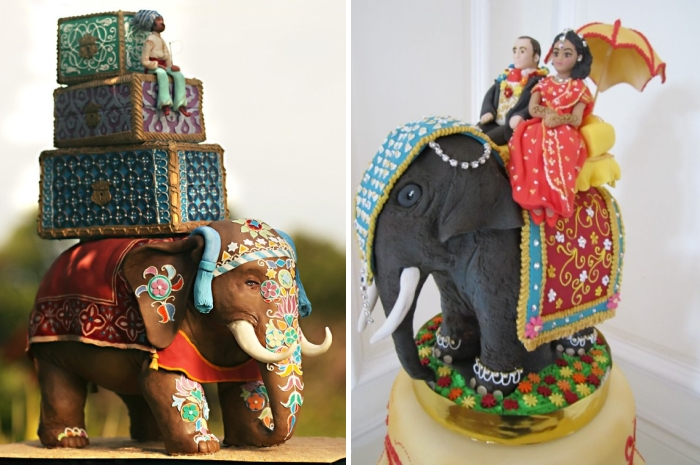 Gorgeous Indian Wedding Cakes