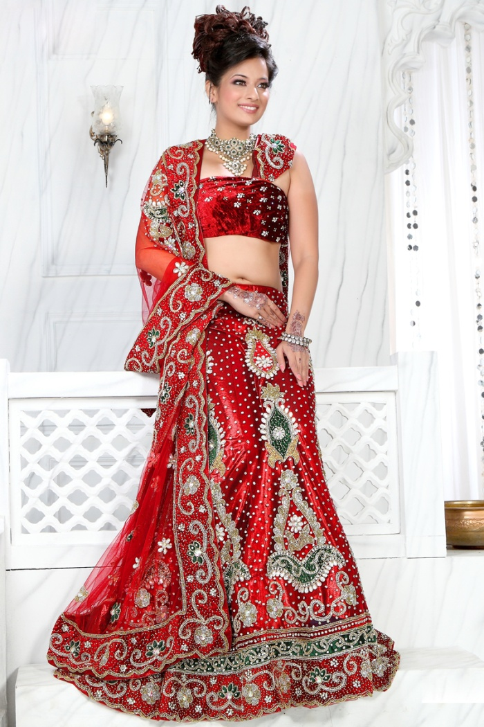 Stylish-indian-Bridal-Lahenga