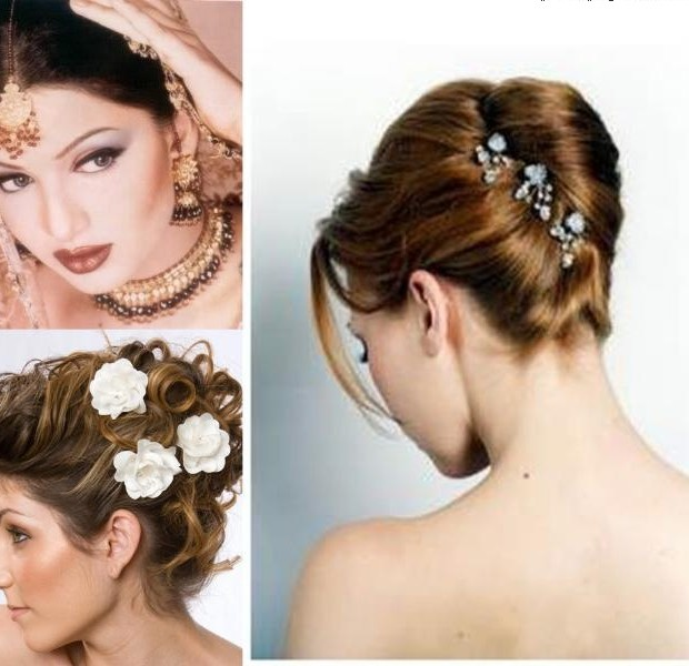 Wedding Hairstyles Indian: Indian Wedding And Reception Hairstyle Trends 2013