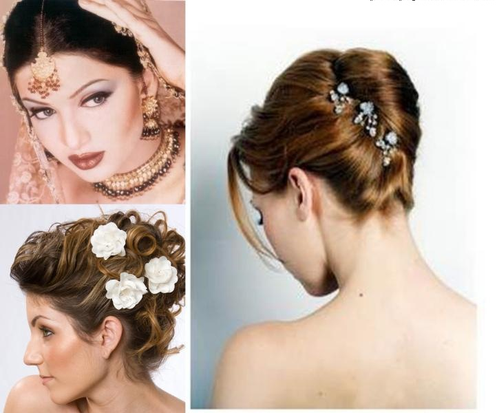 Pleasant Indian Wedding And Reception Hairstyle Trends 2013 India39S Short Hairstyles Gunalazisus