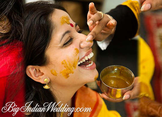 Bunt Pre-Wedding Hindu Ceremonies - India's Wedding Blog | Exploring Indian Wedding Trends