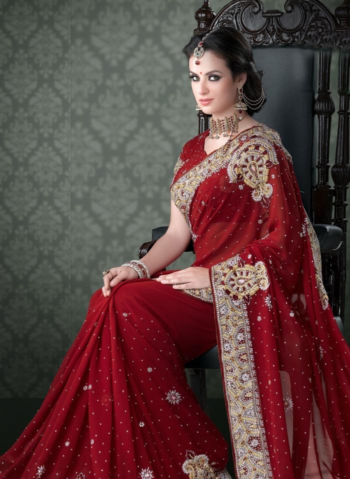 How To Choose A Wedding Saree