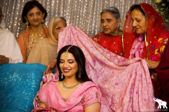 Mehndi Dupatta Decoration : 6 colourful pre wedding rituals of punjabis exploring indian
