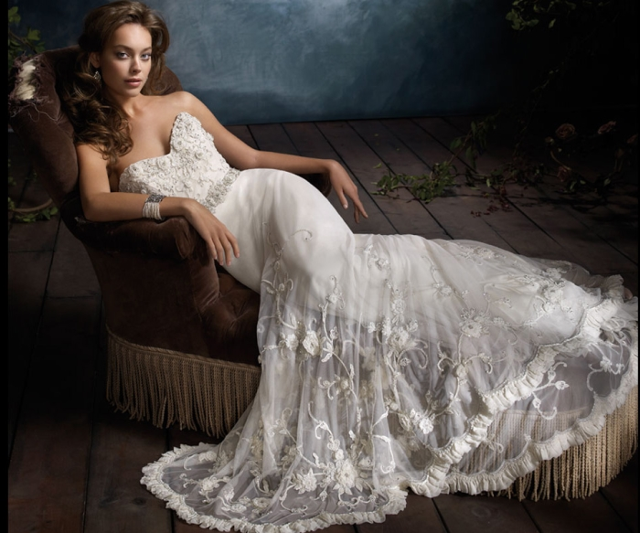 Bridal Gowns By Body Shape