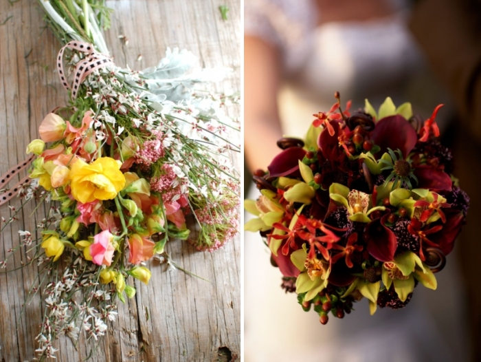 Bridal Bouquet In Mumbai : Ideas for wedding bouquets in every season exploring