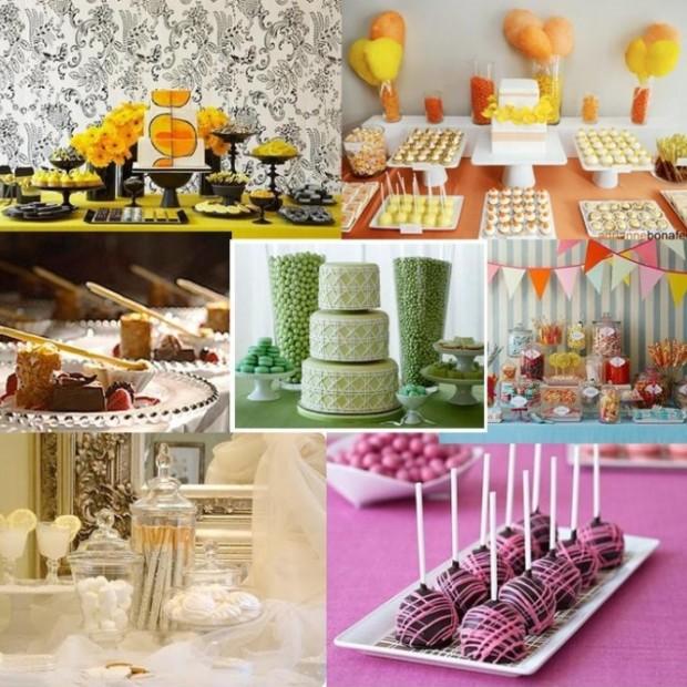 Be Your Own Wedding Planner- DIY Wedding Dessert Bar