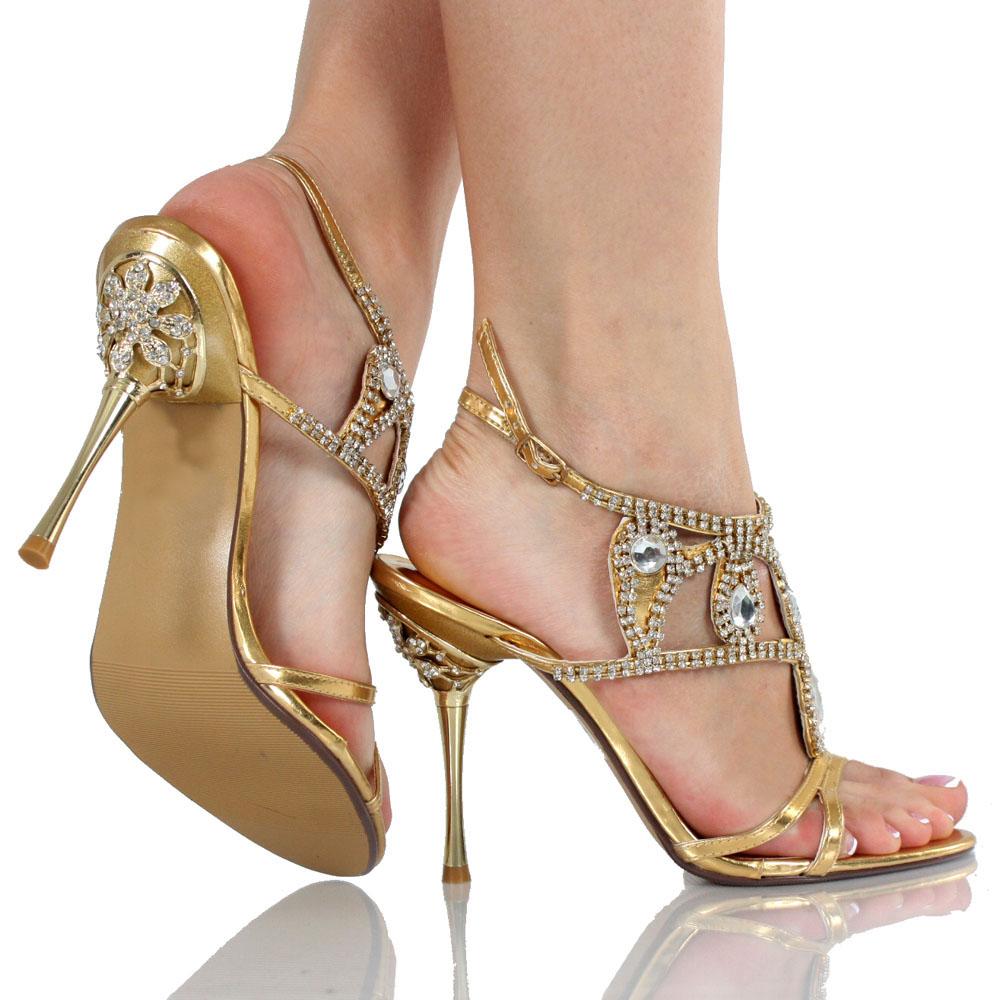 Black Elegant Bride / Bridesmaid Beads High Cone Heel Waterproof