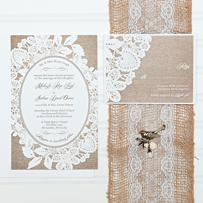 Lace Cards