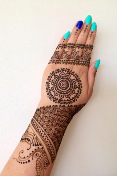 Mehndi Henna Facts : Mehendi designs with facts exploring indian wedding trends