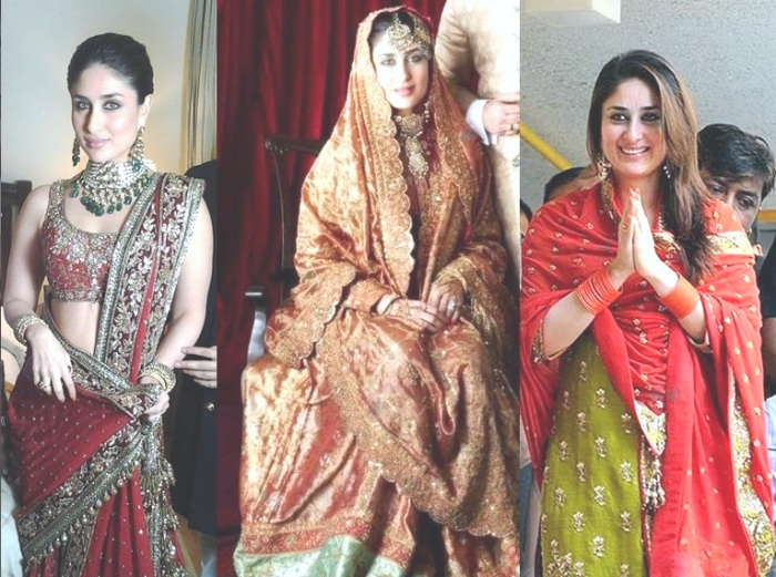 Image result for kareena kapoor on her wedding