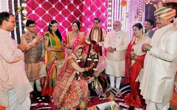 Sonakshi Sinha's brother's wedding