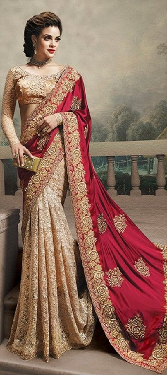 12 Most Pinned Wedding Sarees Of 2014-15
