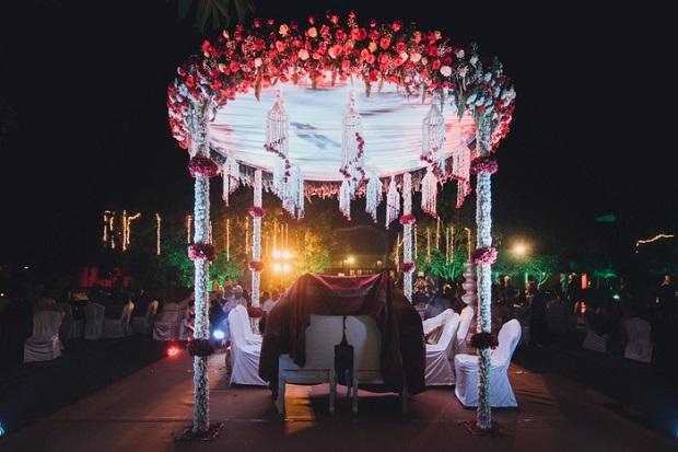 Decor of a Beach wedding in Alibaug-F5 Weddings