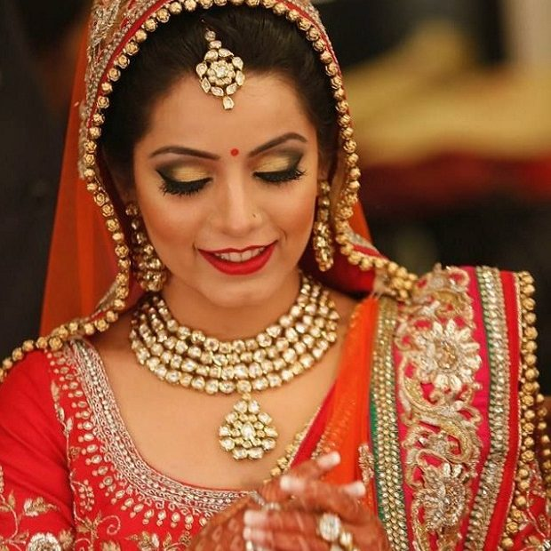 Bridal Makeup Online : Metallic Wedding Makeup - Why Its the Latest Bridal ...