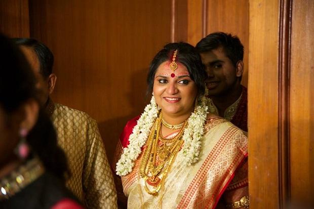 Kerala real wedding Keralite bridal makeup