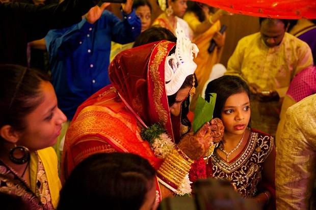 Indian real wedding-Bengali-Kerala wedding