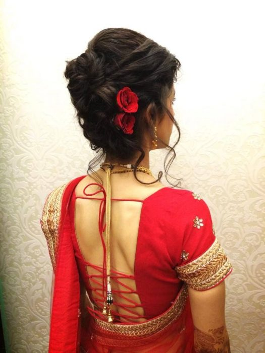 Indian Bridal Hairstyles For Short Hair India S Wedding Blog