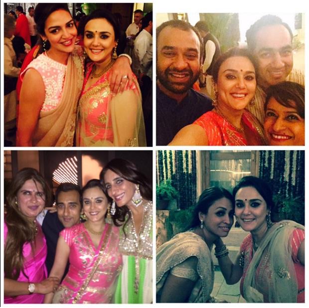 Preity zinta post wedding