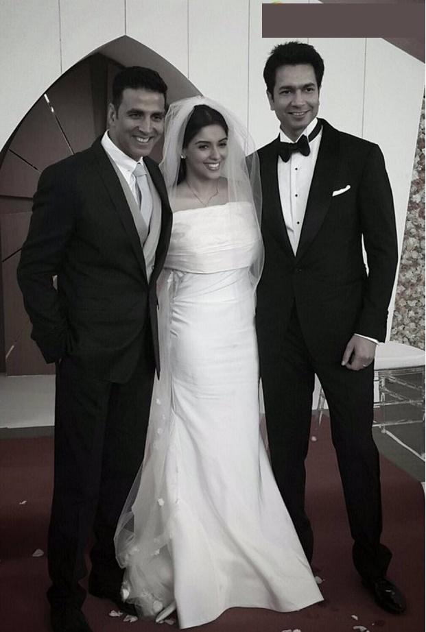 Akshay Kuman best man at 2016 real celebrity weddings India-Asin Rahul wedding