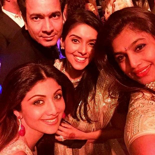 Shilpa Shetty at Asin wedding- photos