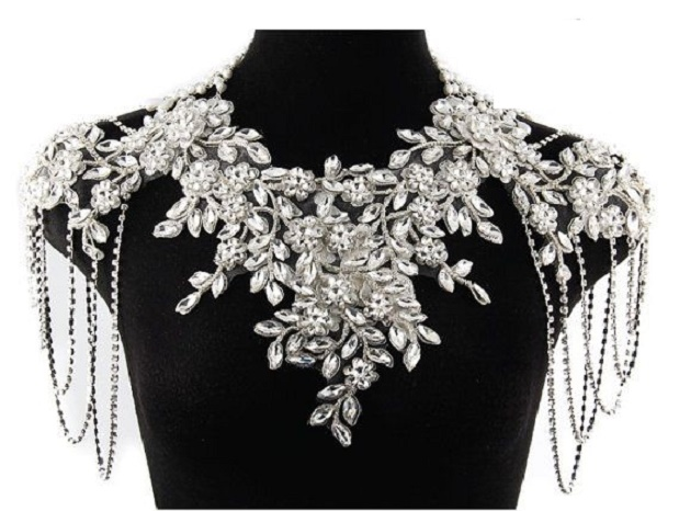Trend Alert Shoulder And Back Jewellery That Dazzles