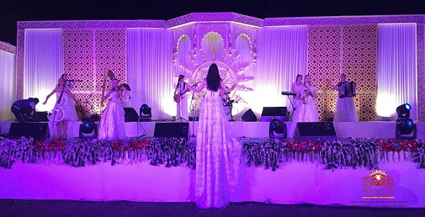 performances at royal Jodhpur wedding