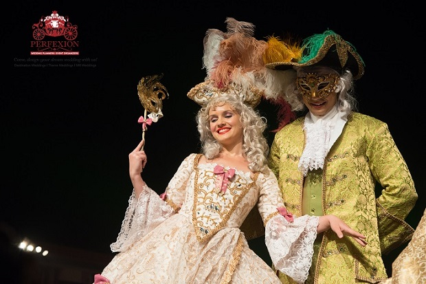 Venetian carnival act
