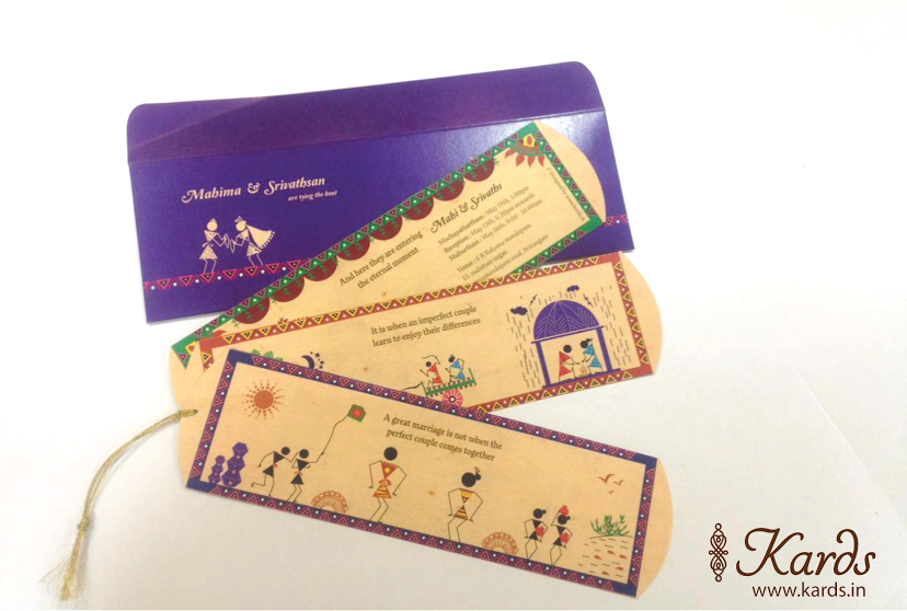 Traditional Wedding Invitations With A Sprinkle Of Creativity – Indian Wedding Cards Mumbai