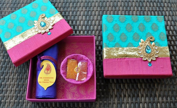 boxed indian wedding invites
