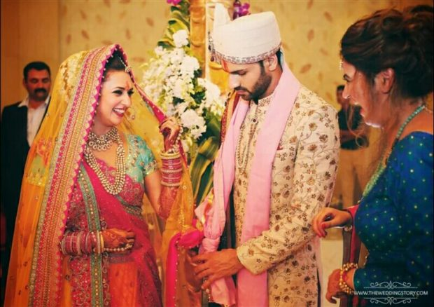 Divyanka Tripathi Mehndi Ceremony : Real wedding of divyanka tripathi and vivek dahiya exploring