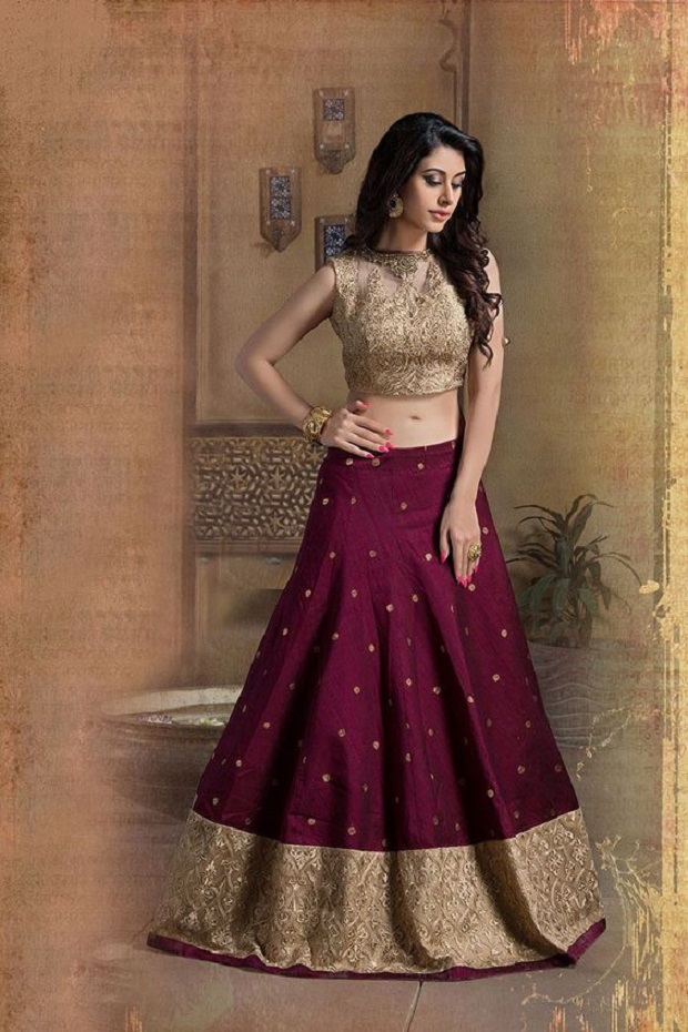 b90736910 10 Amazing Non-Red Wedding Lehengas We Are Totally In Love With ...