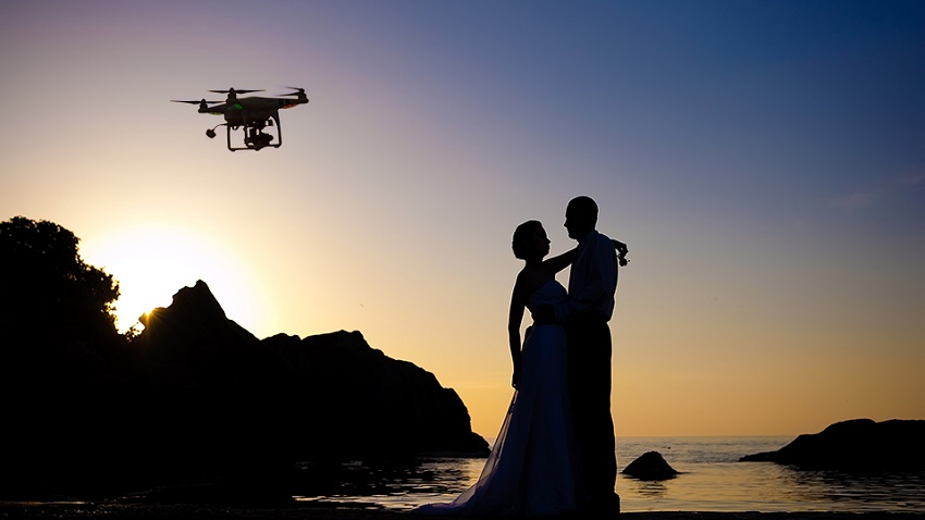 5 photography styles you should consider india39s wedding for Drone wedding photos