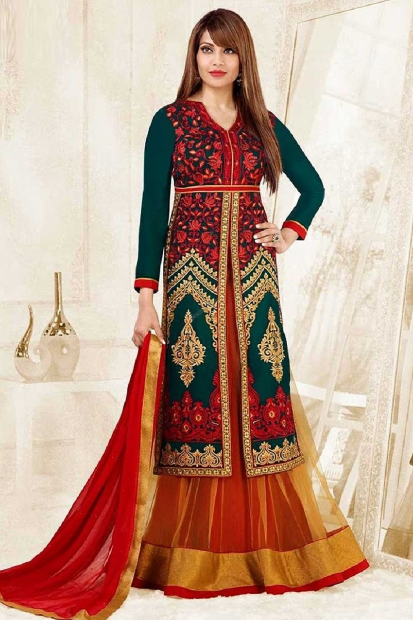 10 Trendy Full Sleeve Lehenga Cholis For Autumn Winter Brides