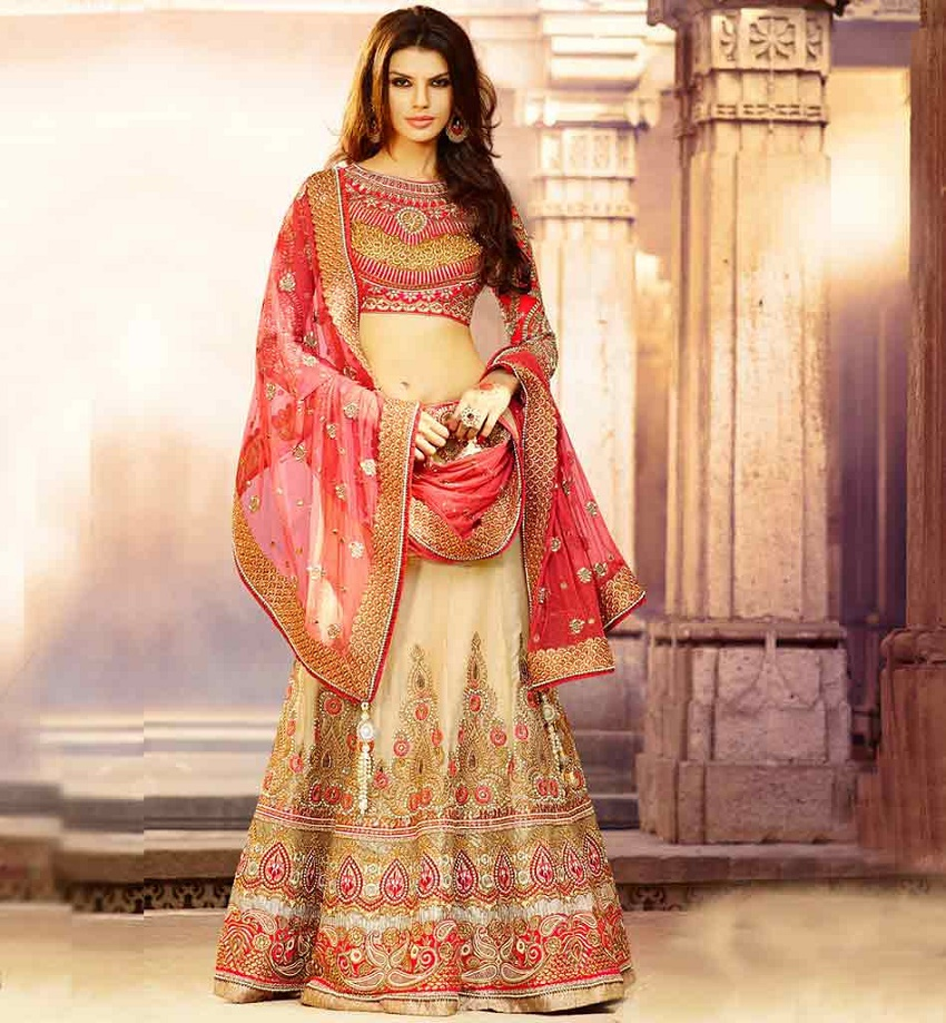 10 Trendy Full Sleeve Lehenga Cholis For Autumn Winter