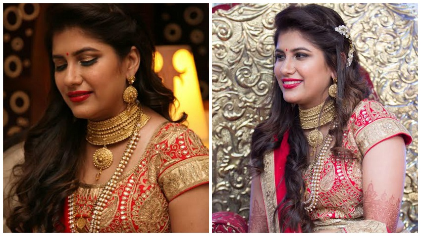 Our Bride Recommends Her Bridal Makeup Artist! – India's