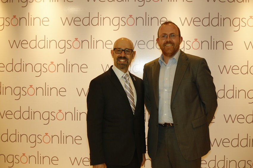 Indian wedding summit Alan Berg and Peter Bryans