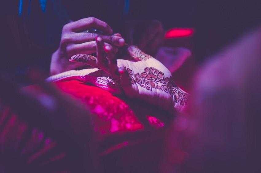 cineyug celebration wedding in Goa mehendi