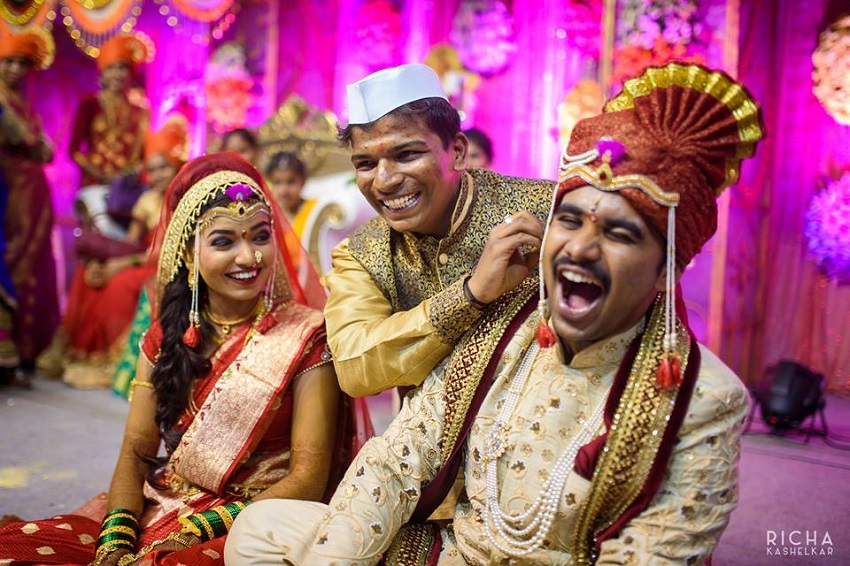 maharashtrian brahmin wedding rituals-kaan pilna