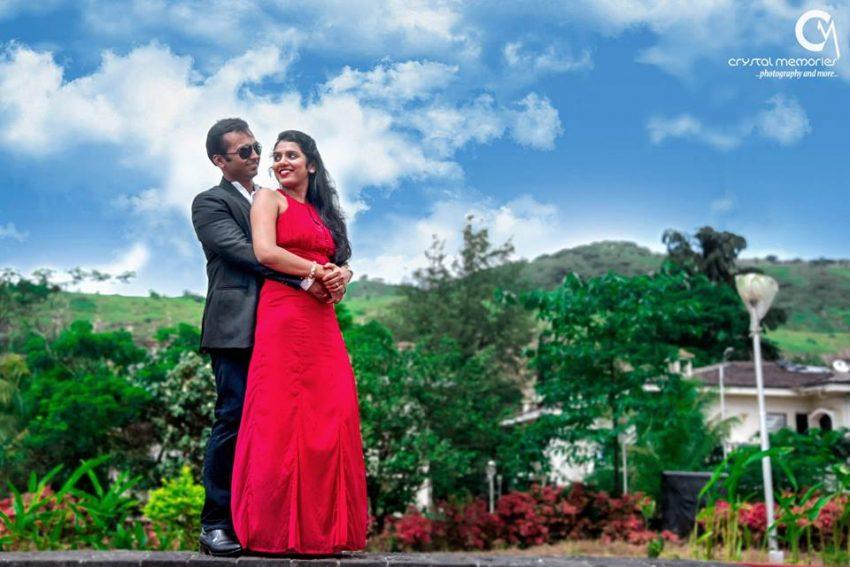 pre-wedding shoot Marathi real wedding photography by Crystal Memories