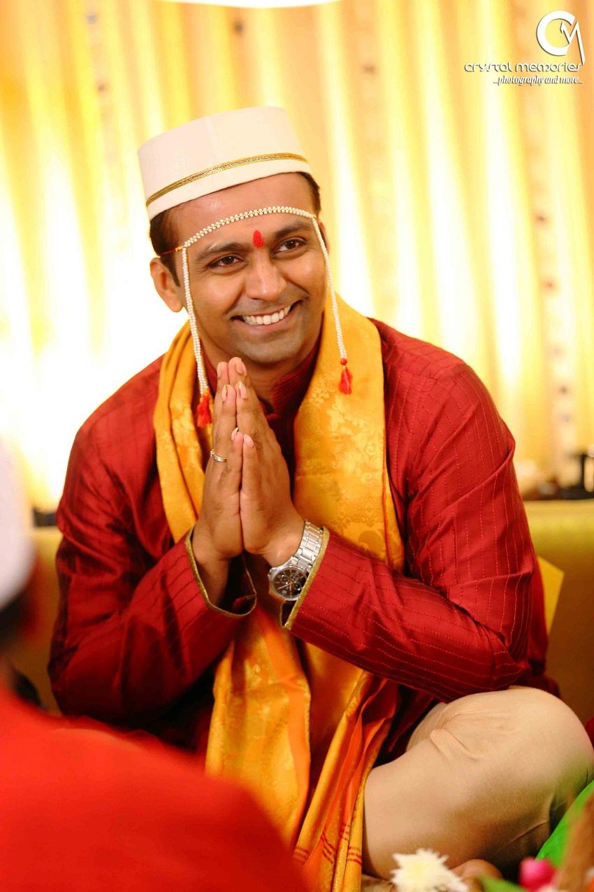 Marathi groom-classic Marathi real wedding