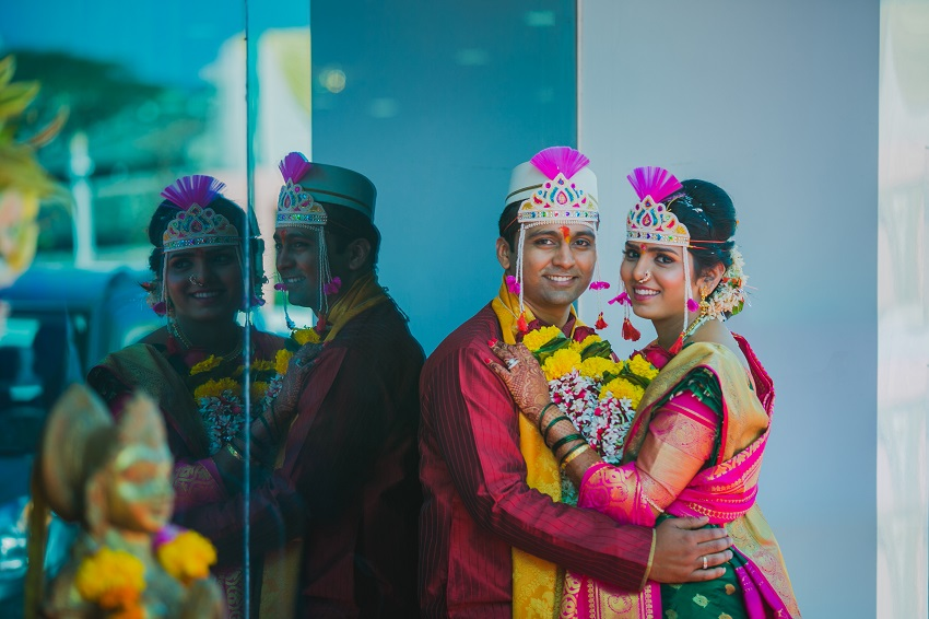 classic Marathi real wedding by Classic Memories