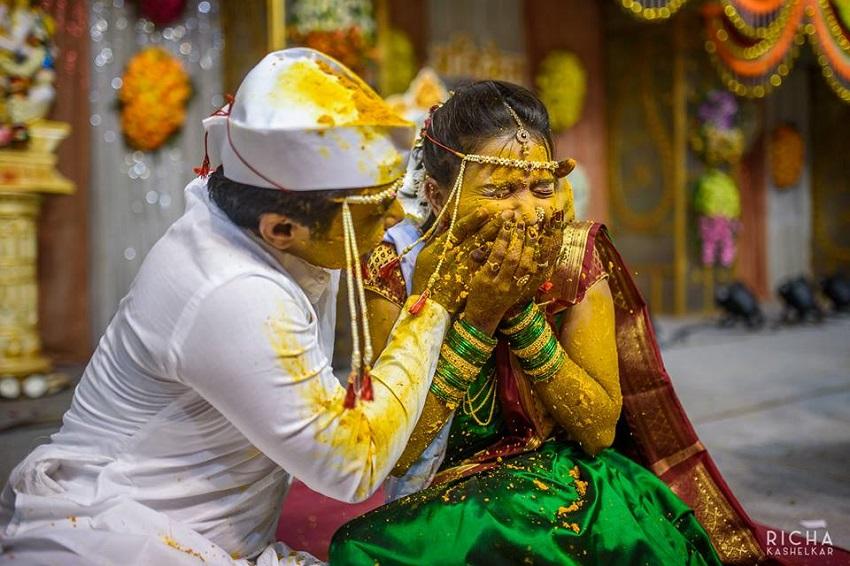 haldi ceremony marathi wedding rituals