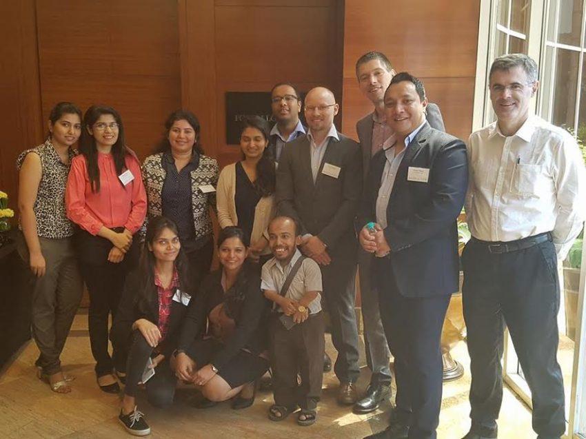 weddingsonline India team at the International wedding workshop