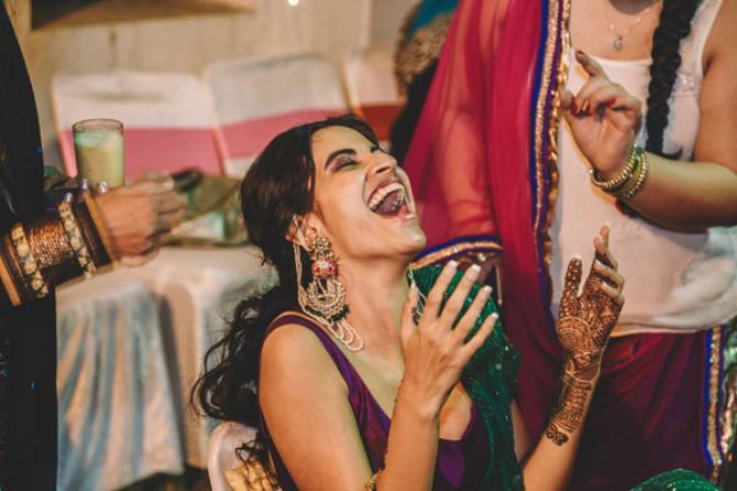 priyanka kochhar wedding photos mehendi ceremony