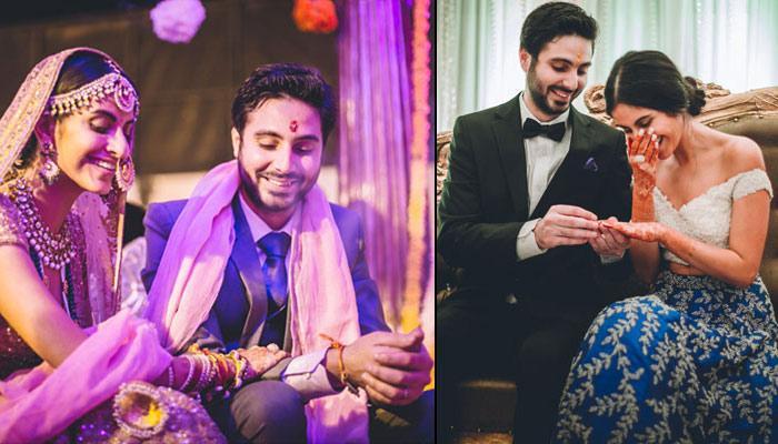 engagement ceremony Parsi Punjabi wedding of rishaad mody priyanka kochhar