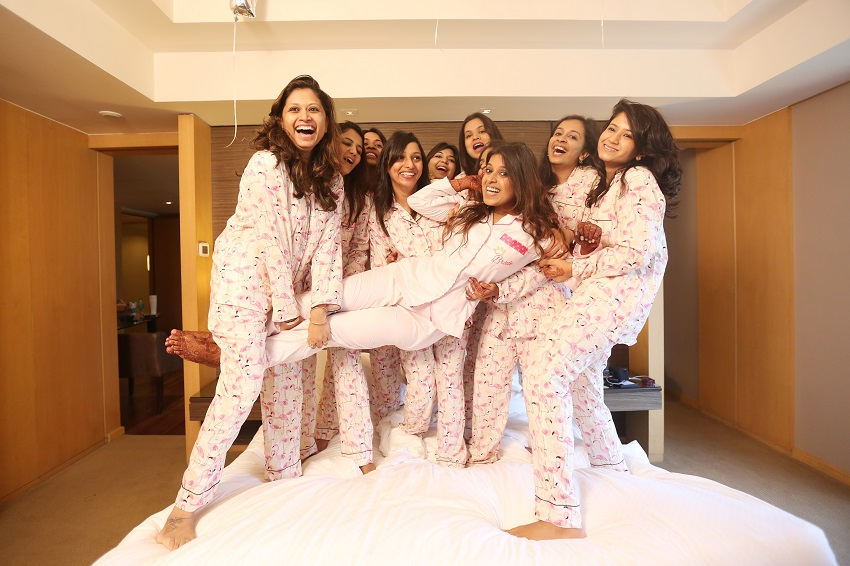 Luv Israni Wedding Photography: A Fab Pyjama Photoshoot At The Grand Hyatt Mumbai By