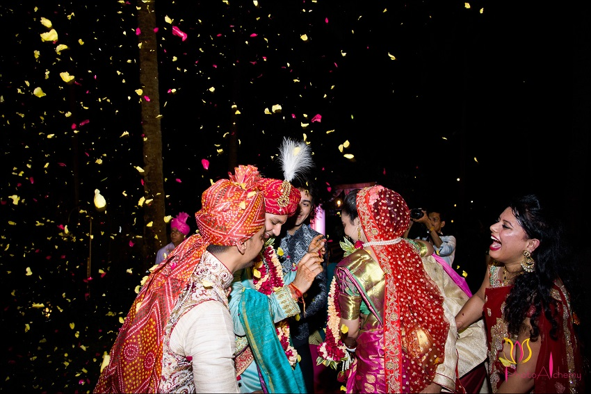 baraat-real wedding in Goa Planet Hollywood