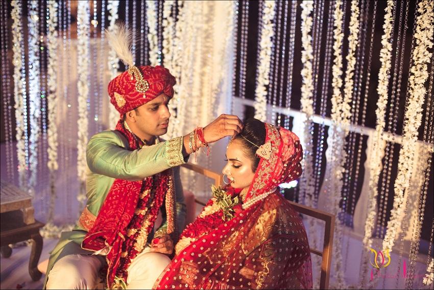 fusion Marwari Tamil destination wedding in Goa Photoalchemy team